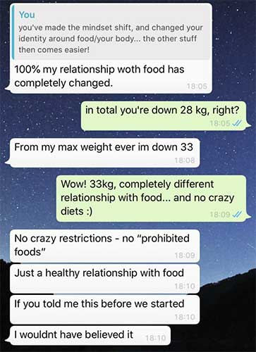 qué hacer para perder peso