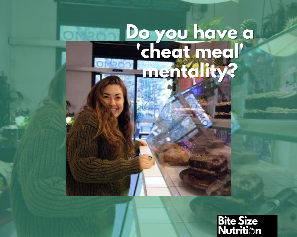 Is your cheat meal mentality holding you back from weight loss?